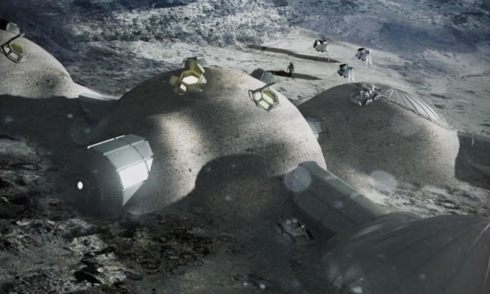Концепт колонизации Луны
