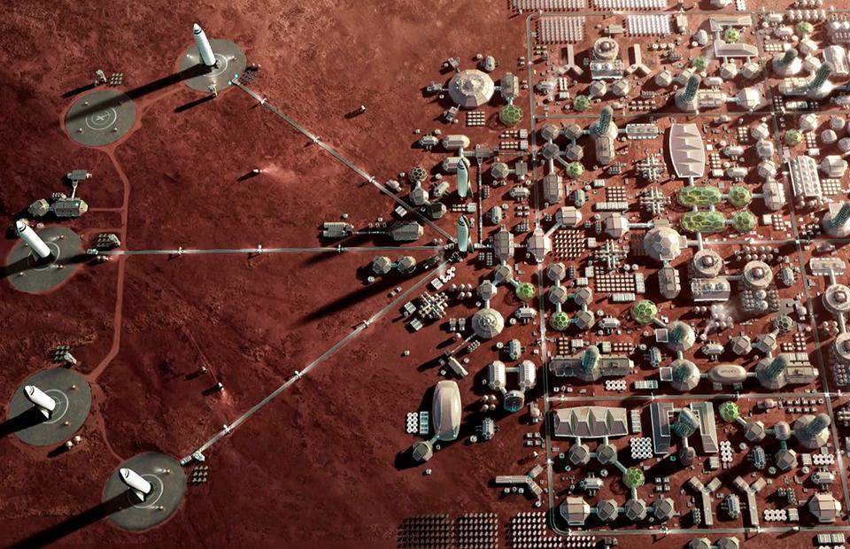Города на Марсе