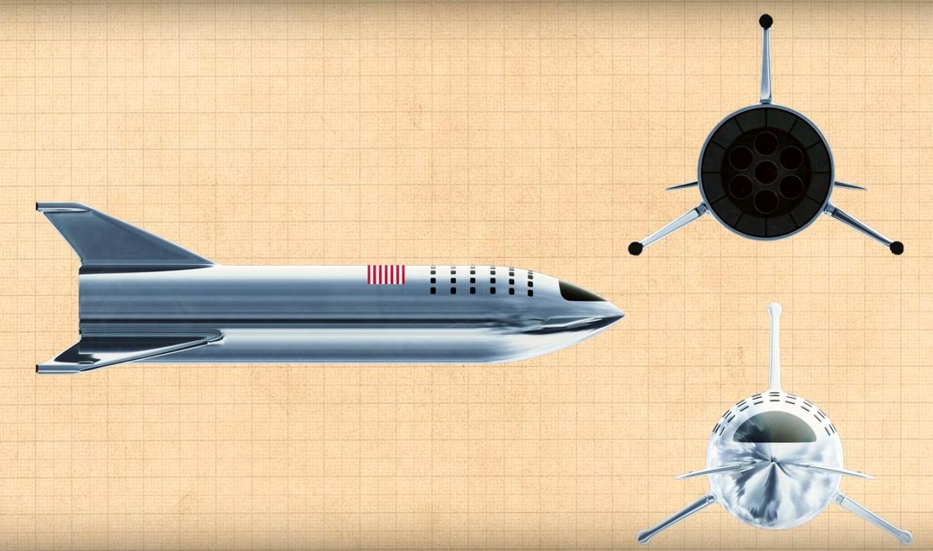 Аппарат для полета на Марс