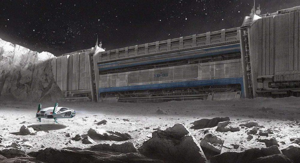 Проект лунной базы на Луне 1959 года